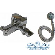 Смеситель Zorg Sanitary ZR 119 W для ванны с душем