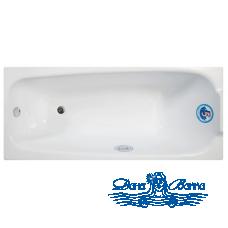 Акриловая ванна Арго Ода 160x70 на каркасе