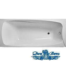 Акриловая ванна Eurolux Пальмира 170х75