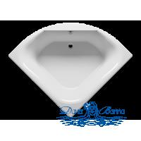 Акриловая ванна RIHO Atlanta 140x140 без гидромассажа
