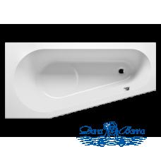 Акриловая ванна RIHO Delta 150x80 R без гидромассажа