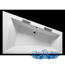 Акриловая ванна RIHO Doppio 180x130 L без гидромассажа