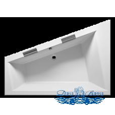 Акриловая ванна RIHO Doppio 180x130 R без гидромассажа