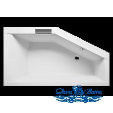 Акриловая ванна RIHO Geta 160x90 L без гидромассажа