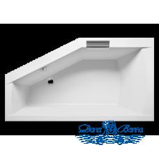 Акриловая ванна RIHO Geta 170x90 R без гидромассажа
