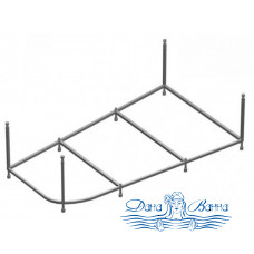 Каркас для ванны Aessel Луара 150х100 L/R