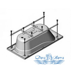 Каркас для ванны Eurolux Аполлония 180х90