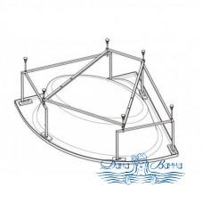 Каркас для ванны Eurolux Римини 150х150
