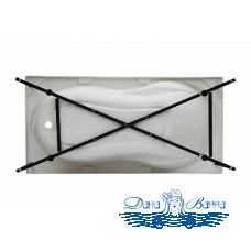 Каркас сварной для акриловой ванны Aquanet Corsica 150x75