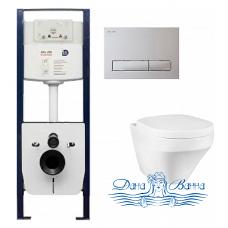 Комплект Am.Pm Inspire инсталляция I012702+кнопка I014101+унитаз C501738SCV+крышка Calla