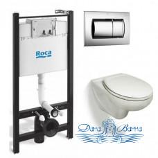 Комплект инсталляция с унитазом Roca Victoria 893100000