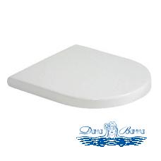 Крышка-сиденье Duravit Starck 3 0063890000 с микролифтом, петли хром
