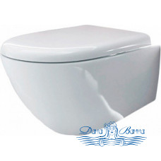 Крышка-сиденье Kerasan Aquatech 378801 с микролифтом, петли хром