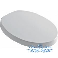 Крышка-сиденье Kerasan Cento 358801 белая, с микролифтом, петли хром