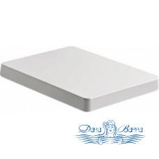 Крышка-сиденье Kerasan Cento 358901 белая, с микролифтом, петли хром