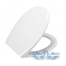 Сиденье VitrA Efes петли хром (белый) 115-003-003