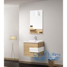 Комплект мебели Orans BC 60 (ВС-2023D-600) (дуб\белый глянец)