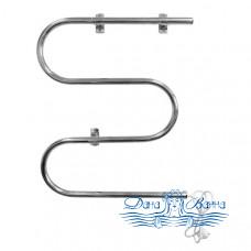 Полотенцесушитель электрический Domoterm M-образный 107-25 (60x60)