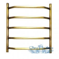 Полотенцесушитель водяной Domoterm Лаура П5 (500х700) (бронза)