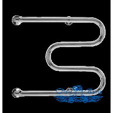 """Полотенцесушитель водяной Terminus М-образный 25 (3/4"""") (500х500)"""