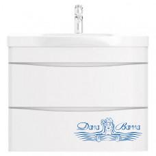 Тумба для ванной Am.Pm Like (M80FHX0802WG) (белый, глянец) (80 см)