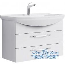 Тумба для ванной Aqwella Аллегро 85 (с 2-мя ящиками)