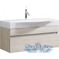 Тумба для ванной Aqwella Бергамо 100 (акация) подвесная