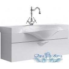 Тумба для ванной Aqwella Бродвей 110 (белый)