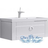 Тумба для ванной Aqwella Инфинити 100 (белый)