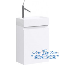 Тумба для ванной Aqwella Леон 40 (белый)