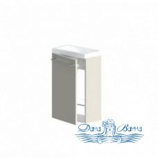 Тумба для ванной Astra Form Мини 40 белая (L)