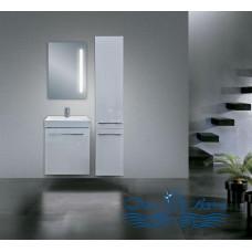 Тумба для ванной Astra Form Соло 60 белая (с дверцами)