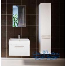 Тумба для ванной Astra Form Соло 70 белая (1 ящик)