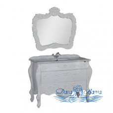 Тумба для ванной Demax Афины 120 (белый ретро)