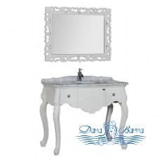 Тумба для ванной Demax Сорбонна 100 белый глянец