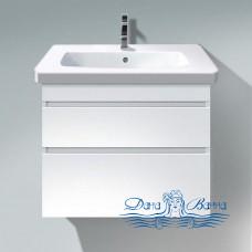 Тумба для ванной Duravit DuraStyle (DS648102222) (80 см) белый глянцевый