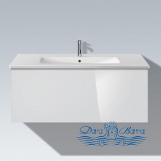 Тумба для ванной Duravit L-cube (LC614202222) (103 см) белый