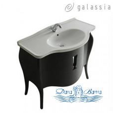 Тумба для ванной Galassia Ethos (8478) (110 см) черный дуб