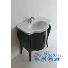 Тумба для ванной Galassia Ethos (8480) (75 см) черный дуб