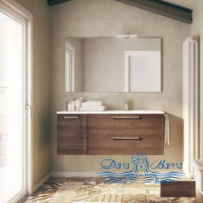 Тумба для ванной Idea Group Dressy 120 (темный дуб)