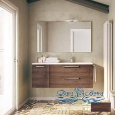 Тумба для ванной Idea Group Dressy 60 (темный дуб)