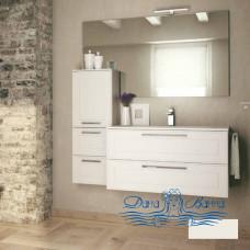 Тумба для ванной Idea Group Dressy 90 (белый матовый)