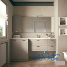 Тумба для ванной Idea Group Dressy 90 (темно-бежевый матовый)