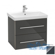 Тумба для ванной Villeroy & Boch Avento (A88900B1) (60 см) Crystal Grey