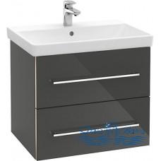 Тумба для ванной Villeroy & Boch Avento (A89000B1) (65 см) Crystal Grey