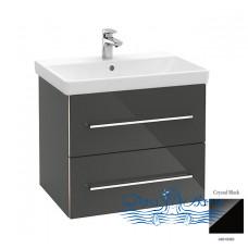 Тумба для ванной Villeroy & Boch Avento (A89000B3) (65 см) Crystal Black