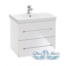 Тумба для ванной Villeroy & Boch Avento (A89000B4) (65 см) Crystal White