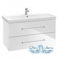 Тумба для ванной Villeroy & Boch Avento (A89200B4) (100 см) Crystal White