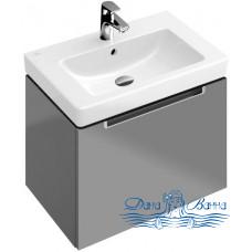 Тумба для ванной Villeroy & Boch Subway 2.0 (A68800N9) (серый матовый) (65 см)