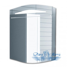 Зеркальный шкаф Alvaro Banos Alma (60 см) (белый лак)